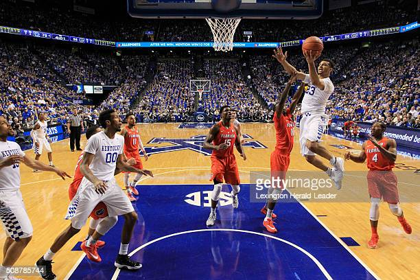 Kentucky guard Jamal Murray scored during the second half on Saturday Feb 6 at Rupp Arena in Lexington Ky Murray scored 35 points in the game
