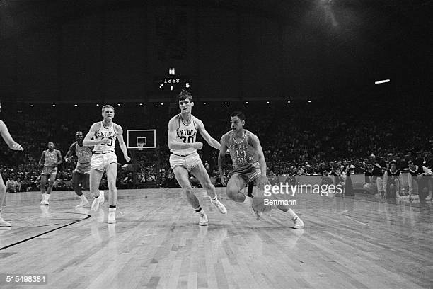 Kentucky plays Texas Western in the 1966 NCAA Basketball Tournament.