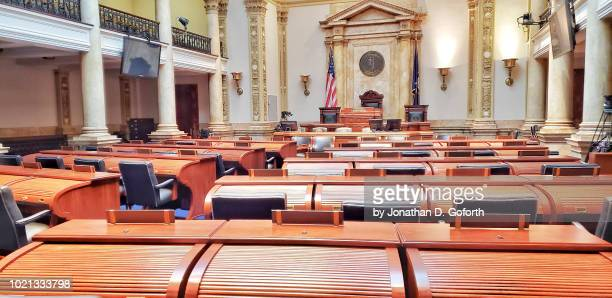 kentucky state capitol senate room - house of representatives stock pictures, royalty-free photos & images