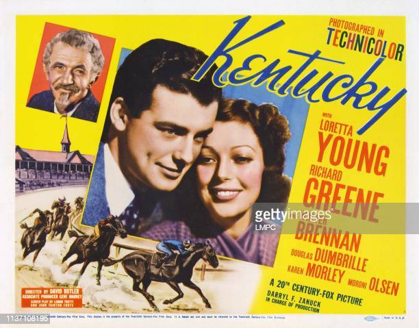 Walter Brennan Richard Greene Loretta Young 1938