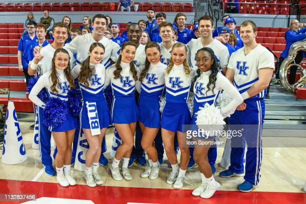 Kentucky Wildcats Cheerleaders during the 2019 Div 1 Women's Championship - First Round college basketball game between the Princeton Tigers and the...