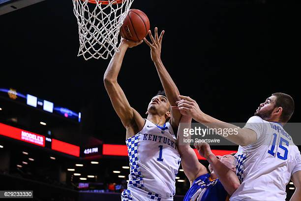 Kentucky Wildcats forward Sacha KilleyaJones during the second half of the NCAA Men's basketball game between the Kentucky Wildcats and the Hofstra...