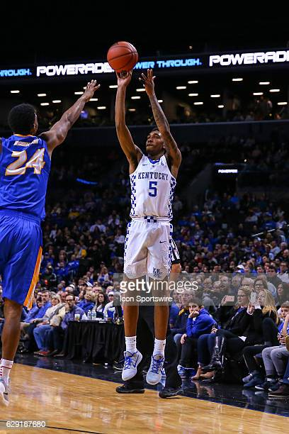 Kentucky Wildcats guard Malik Monk during the second half of the NCAA Men's basketball game between the Kentucky Wildcats and the Hofstra Pride on...
