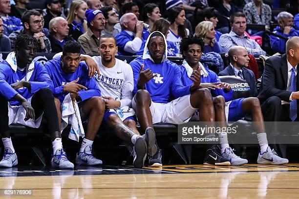 Kentucky Wildcats guard Malik Monk Kentucky Wildcats guard Isaiah Briscoe Kentucky Wildcats forward Edrice Adebayo and Kentucky Wildcats guard...