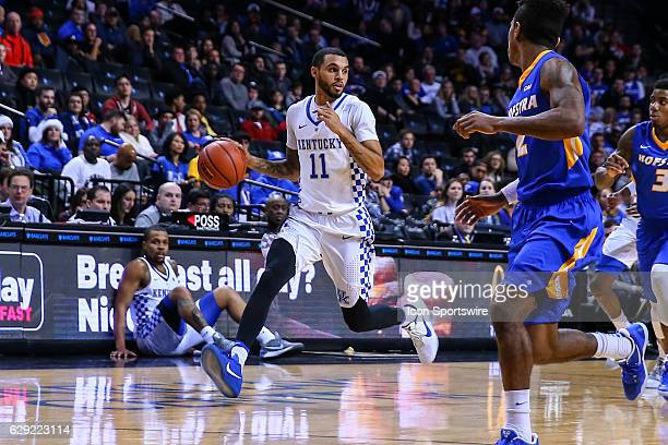 Kentucky Wildcats guard Mychal Mulder during the second half of the NCAA Men's basketball game between the Kentucky Wildcats and the Hofstra Pride on...