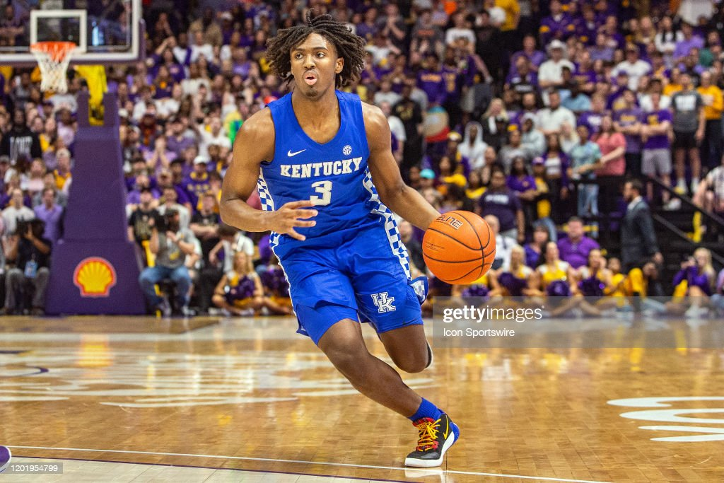 COLLEGE BASKETBALL: FEB 18 Kentucky at LSU : News Photo
