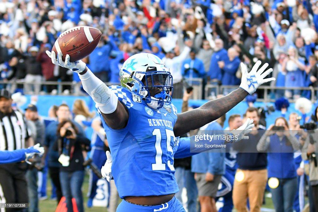 COLLEGE FOOTBALL: DEC 31 Belk Bowl - Virginia Tech v Kentucky : News Photo