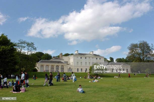 Kenwood House and its gardens in Hampstead Heath.