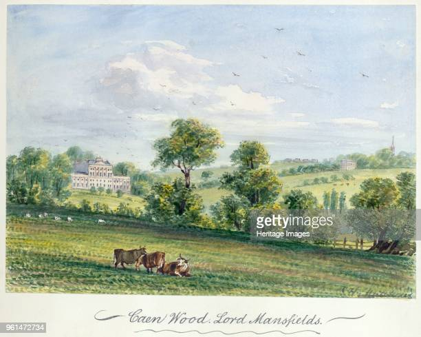 Kenwood House Hampstead London 1850 'Caen Wood Lord Mansfields' From the Mayson Beeton Collection Artist CH Matthews