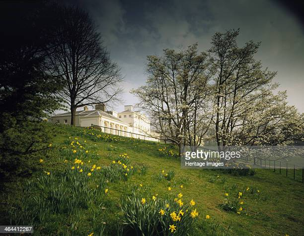 Kenwood House Hampstead London 2000 The south front of Kenwood House in the springtime with daffodils in bloom Kenwood House was remodelled by Robert...