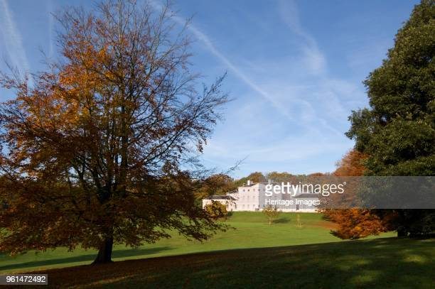 Kenwood House Hampstead London circirca 1990c2010 Exterior distant view of the house with trees in the grounds showing autumn colours Artist Nigel...