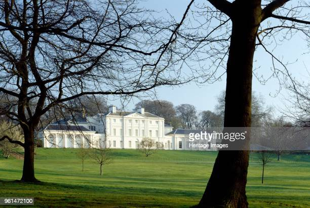 Kenwood House Hampstead London circirca 1990c2010 Exterior view of the south front of the house viewed through trees in early spring Artist Nigel...