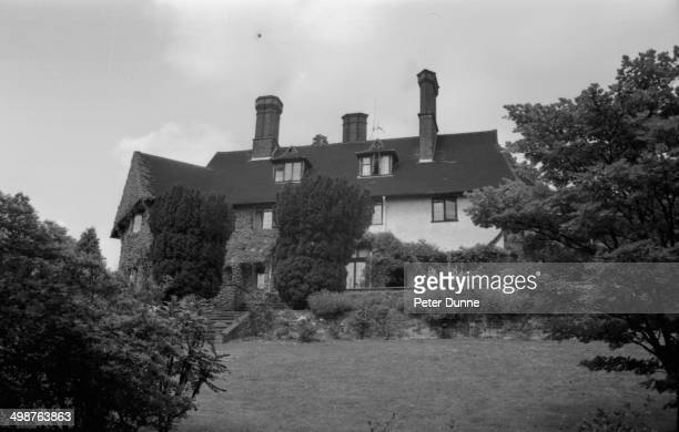 Kenwood, the new home of Beatle John Lennon, in St. George's Hill, Weybridge, Surrey, 1964.