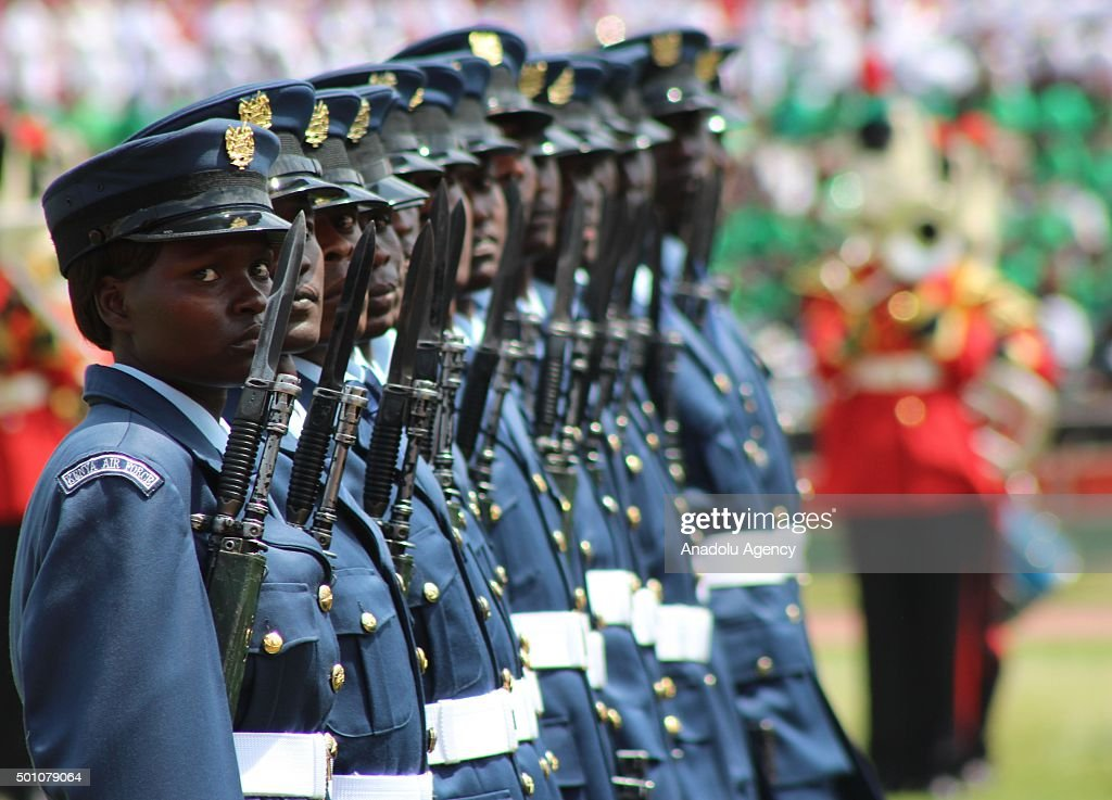 Jamhuri Day celebrations in Kenya : News Photo