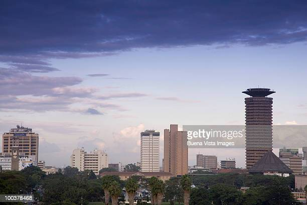 Kenya, downtown Nairobi.