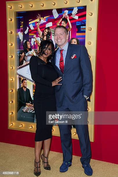 Kenya Duke and Actor Gary Owen attend the Los Angeles Premiere of Think Like A Man Too at TCL Chinese Theatre on June 9 2014 in Hollywood California