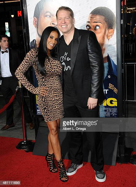 Kenya Duke and comic Gary Owen arrive at the Premiere Of Universal Pictures' Ride Along held at TCL Chinese Theatre on January 13 2014 in Hollywood...