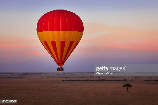 Masai Mara, Kenya - Hot air Balloon Safari at dawn