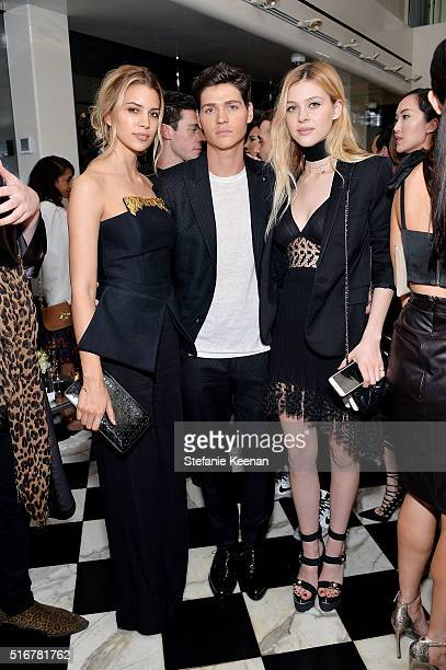 Kenya KinskiJones Will Peltz and Nicola Peltz attend The Daily Front Row Fashion Los Angeles Awards Private Dinner Hosted By Eva Chow And Carine...