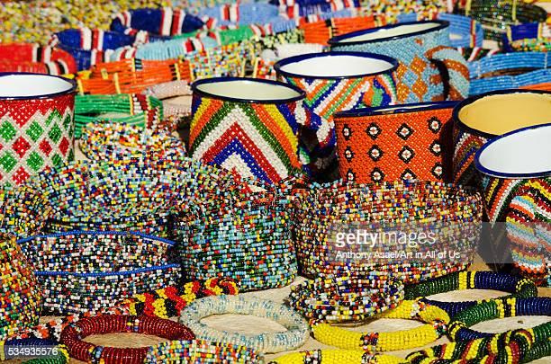 Kenya Laikipia Il Ngwesi colorful Masai beadwork