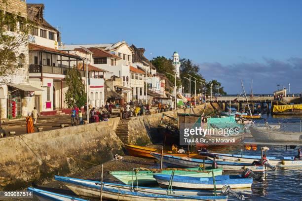 kenya, lamu island, lamu town - kenya stock pictures, royalty-free photos & images