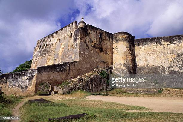 Kenya, Mombasa, Old Portuguese Fortress, Fort Jesus, Built In 1593.