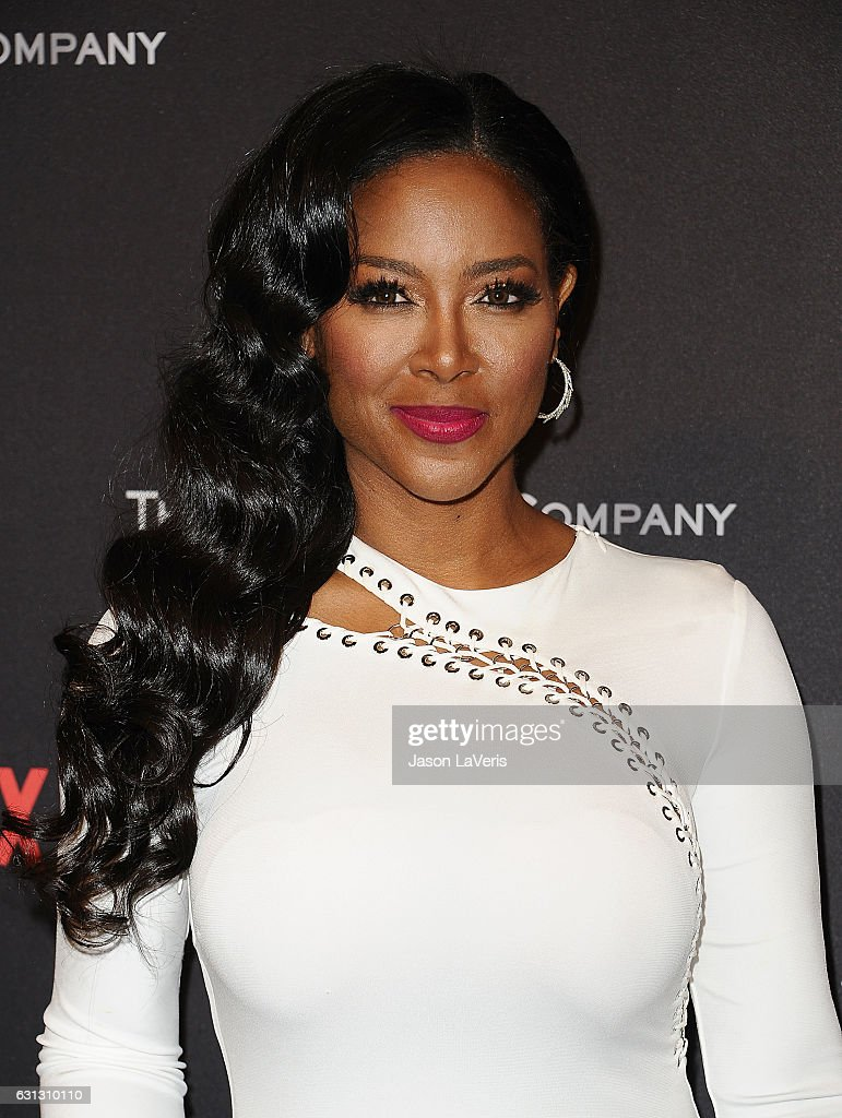 Kenya Moore attends the 2017 Weinstein Company and Netflix Golden Globes after party on January 8, 2017 in Los Angeles, California.