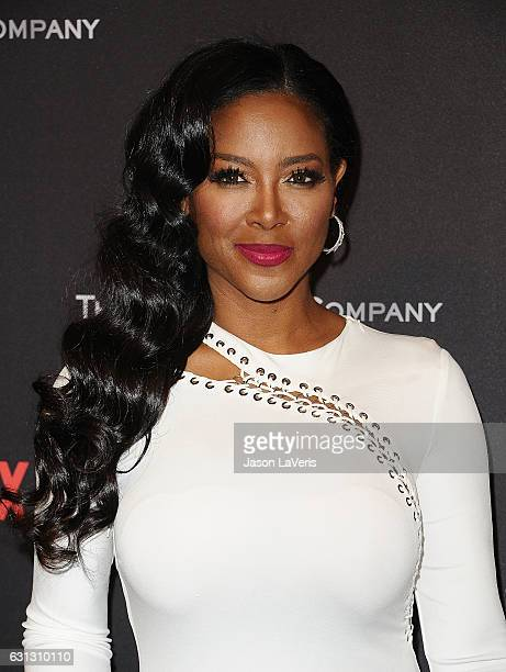 Kenya Moore attends the 2017 Weinstein Company and Netflix Golden Globes after party on January 8 2017 in Los Angeles California