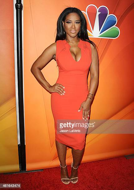 Kenya Moore attends the NBCUniversal 2015 press tour at The Langham Huntington Hotel and Spa on January 16 2015 in Pasadena California