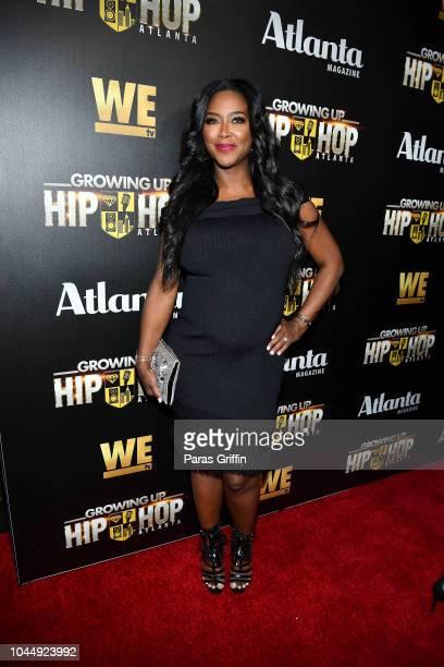 Kenya Moore attends WE tv Celebrates The Return Of Growing Up Hip Hop Atlanta at Club Tongue Groove on October 2 2018 in Atlanta Georgia