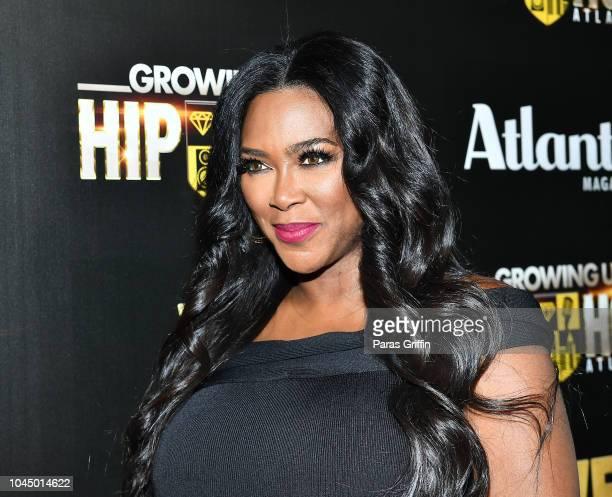 Kenya Moore attends 'WE tv Celebrates The Return Of Growing Up Hip Hop Atlanta' at Club Tongue Groove on October 2 2018 in Atlanta Georgia