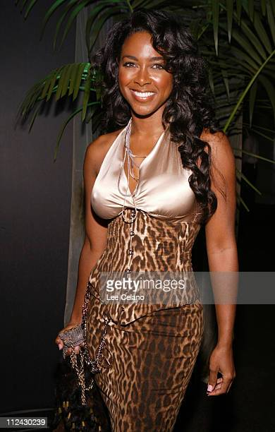 Kenya Moore during 'Ray' Los Angeles Premiere After Party at Hollywood Palladium in Hollywood California United States