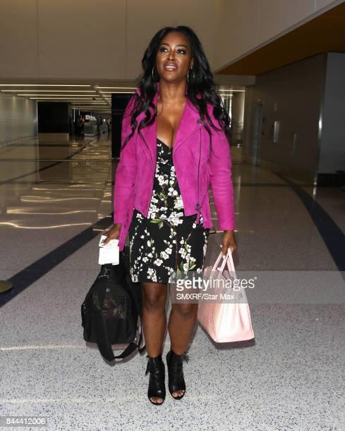 Kenya Moore is seen on September 8 2017 in Los Angeles California