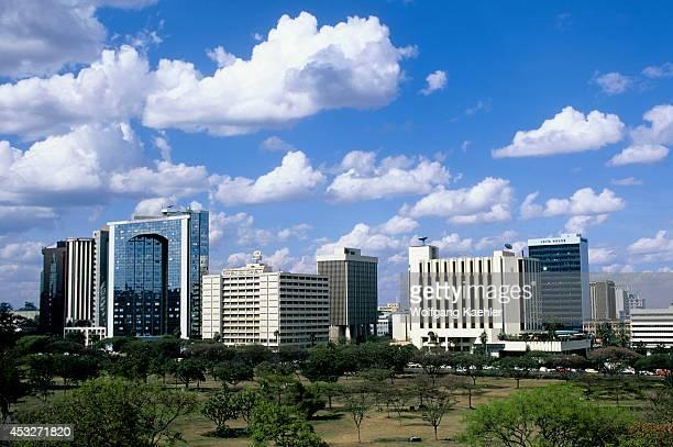 Kenya Nairobi Skyline