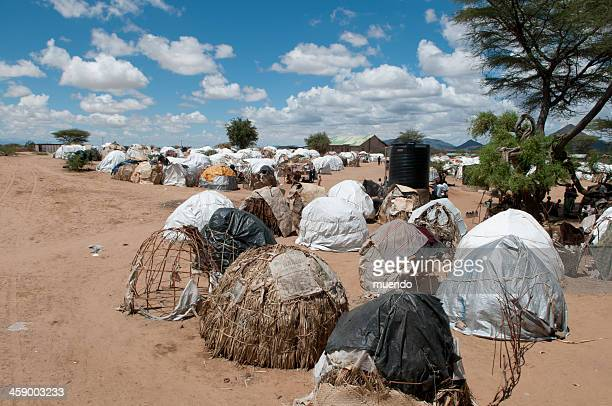 kenya, refugee camp in turkana - climate refugees stock pictures, royalty-free photos & images
