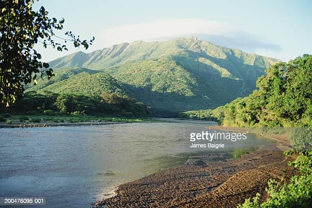 Kenya, Rift Valley, WeiWei River, marich Pass area