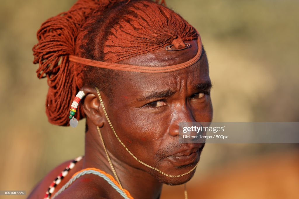 Kenya, Samburu warrior : Stock-Foto