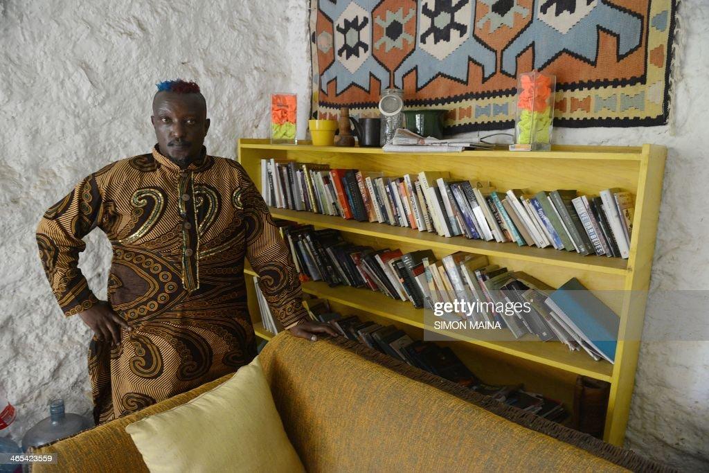 KENYA-GAY-RIGHTS-LITERATURE : News Photo