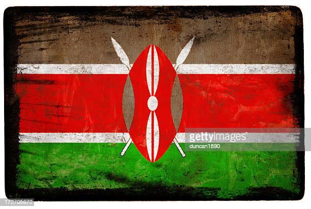 kenyan flag xxl - kenyan flag stock pictures, royalty-free photos & images