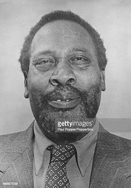Kenyan independence leader Jomo Kenyatta circa 1960 He later became Prime Minister and then President of Kenya