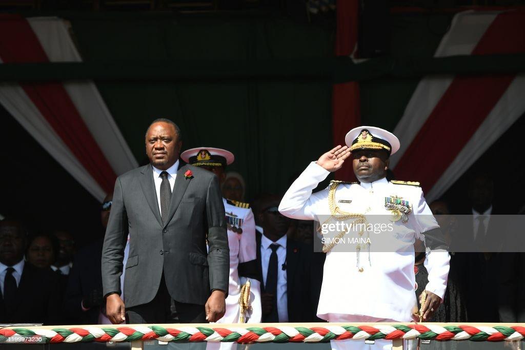 KENYA-POLITICS-FUNERAL : News Photo