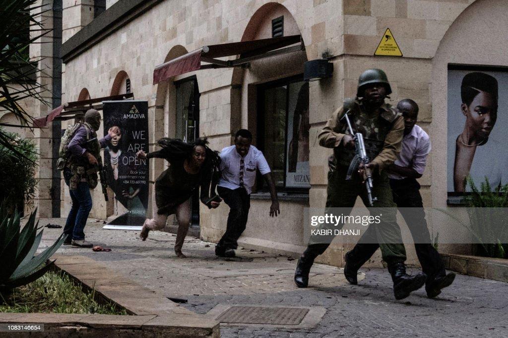 TOPSHOT-KENYA-UNREST : News Photo