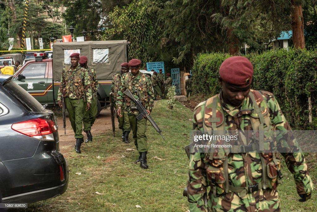 Attack on Hotel Complex in Nairobi : News Photo