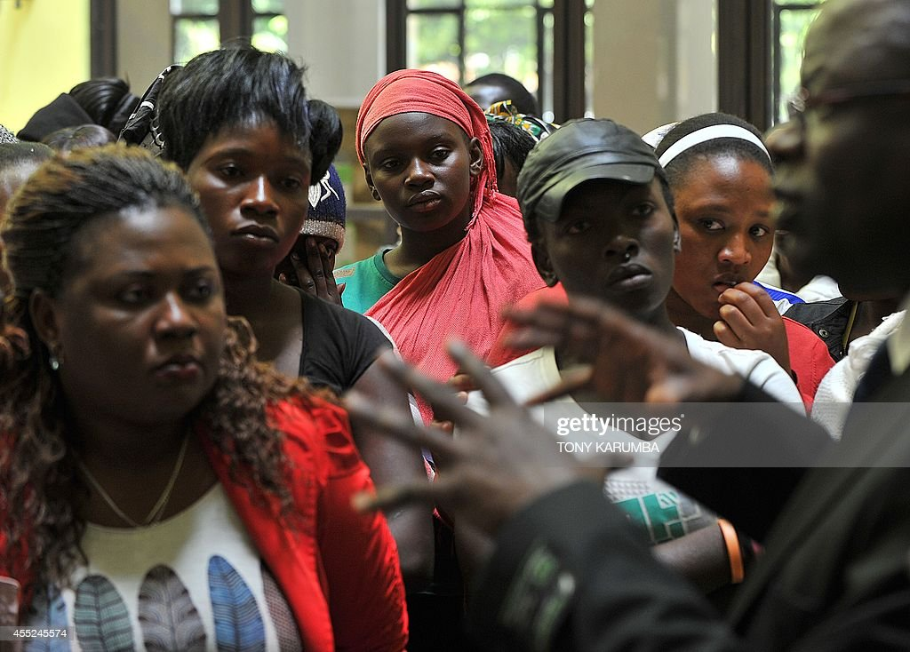 Kenyan Sex Workers Talk On September 10, 2014 With An -4150