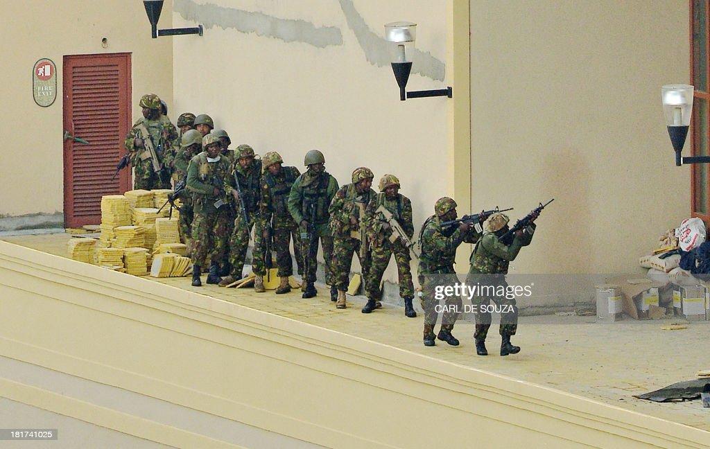 KENYA-ATTACK-MALL : News Photo