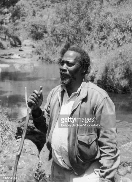 Kenyan statesman and president of the Kenya African Union Jomo Kenyatta 18th October 1952 Around this time Kenyatta was arrested by the British...