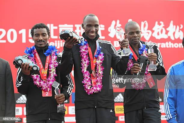 Kenyan veteran Mariko Kipchumba wins the first place with the score of 2 hours 11 minutes followed by Berhanu Tolcha from Ethiopia and Wirimai Juwawo...