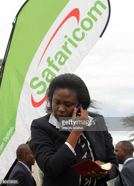 A Kenyan woman waits to apply for Safaricom shares after the launch of the Initial Public Offer in Nairobi 28 March 2008 Thousands of Kenyans queued...