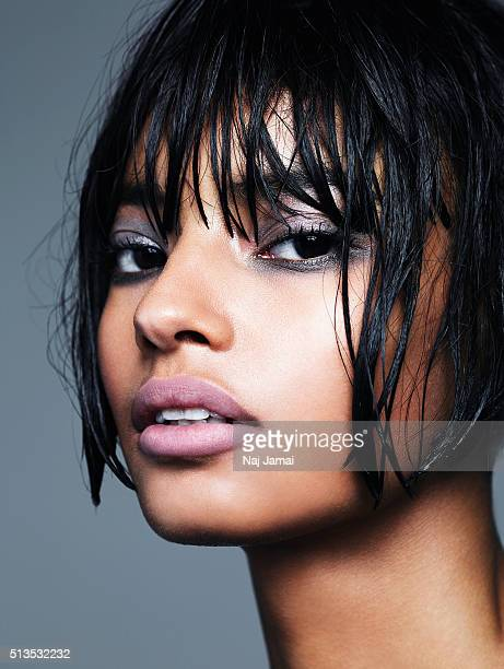 Kenyanborn British model is photographed Malaika Firth for Glamour Magazine UK on March 16 2015 in Los Angeles California PUBLISHED IMAGE