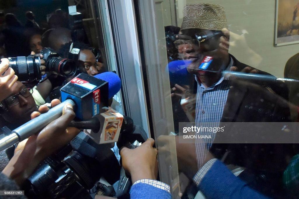 KENYA-CANADA-POLITICS : News Photo